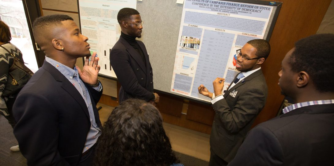 Students talk about research